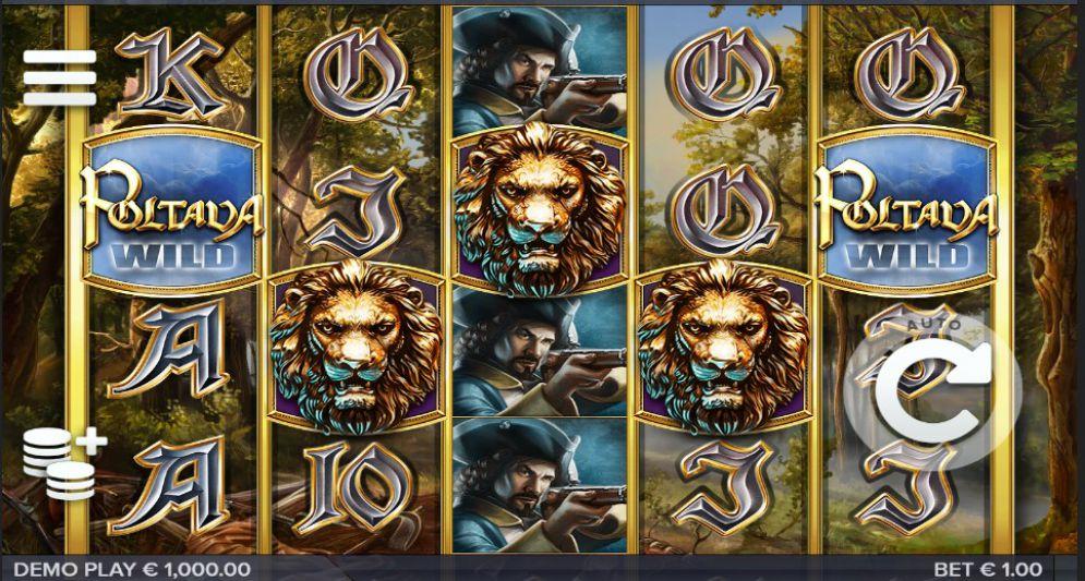 Poltava Flames of War Slot Review screenshot demoplay