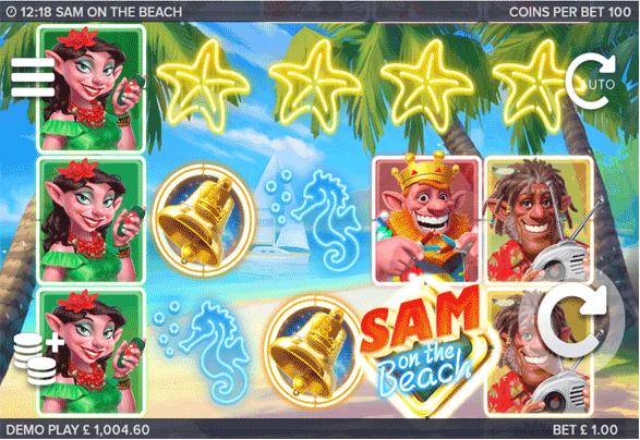 Sam on the Beach screenshot demoplay