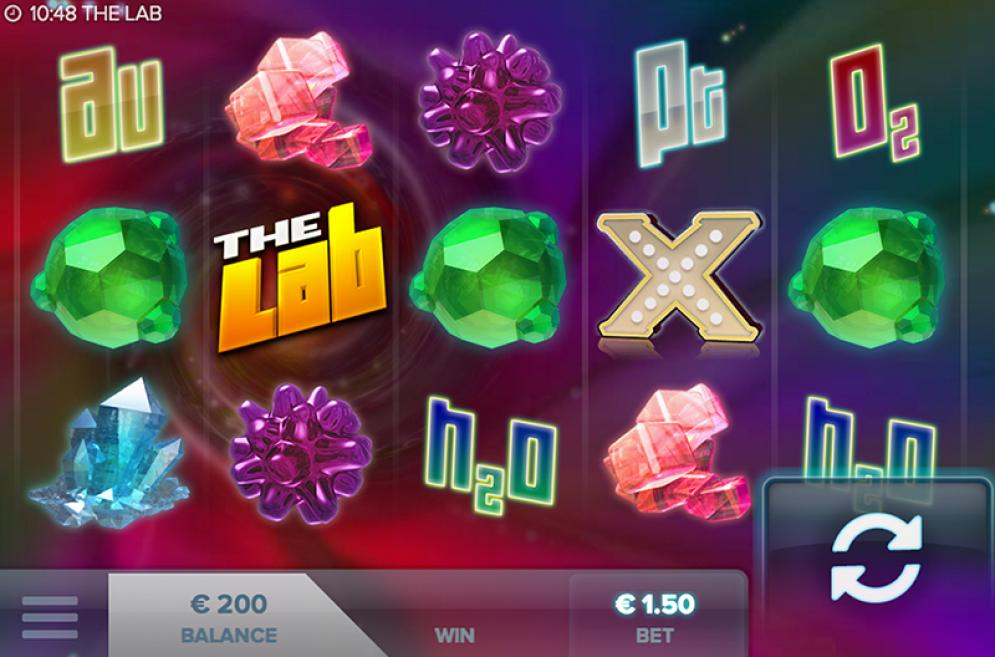 The Lab Slot Screenshot