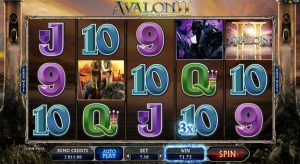 Avalon II slot bonu free spins