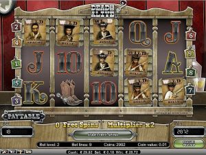 Dead or Alive slot screenshot