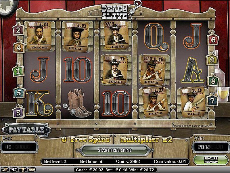 Spiele Dead Or Alive - Video Slots Online
