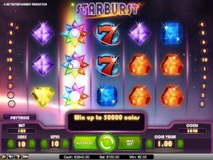 Starburst Screeshot Bonus Free Spins