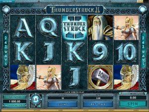 Thunderstruck 2 slot Bonus Free Spins