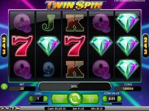 Twin Spin slot bonus free spins