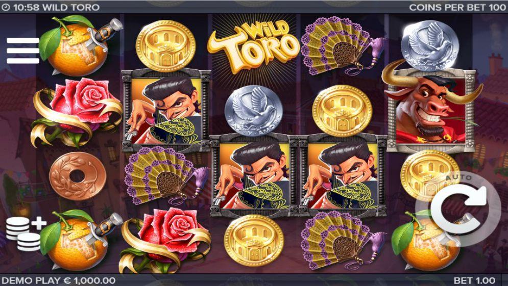Wild Toro Slot demoplay
